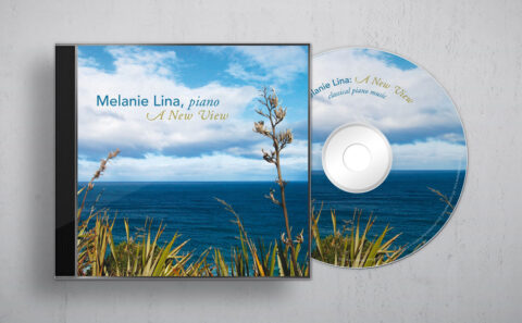 Melanie Lina's CD: front cover
